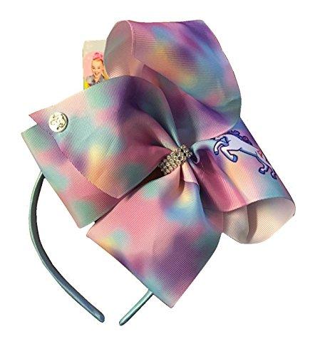 JoJo Siwa Bows Kids Large Bow Headband Unicorn Head Band Best Gift for a Girl