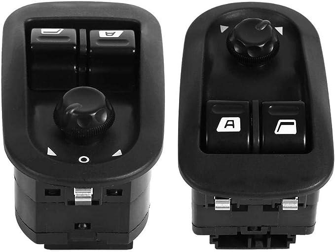 NNAA Interrupteur de l/ève-vitre /électrique Master Bouton pour Peugeot 206 206 CC 206SW 306 206 berline 2007-2016 OEM # 6554WA