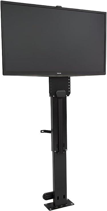 Piedra de toque slimlift Pro Motorizado de pantalla plana TV Lift, 25 cm de altura, para televisores de hasta 48