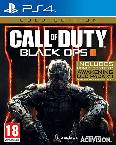 Call of Duty Black OPS III 3 Gold Edition (Playstation 4) (Call Of Duty Black Ops 2 Ghost)