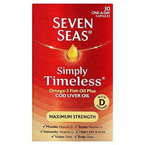 Seven Seas Extra High Strength Cod Liver Oil 30