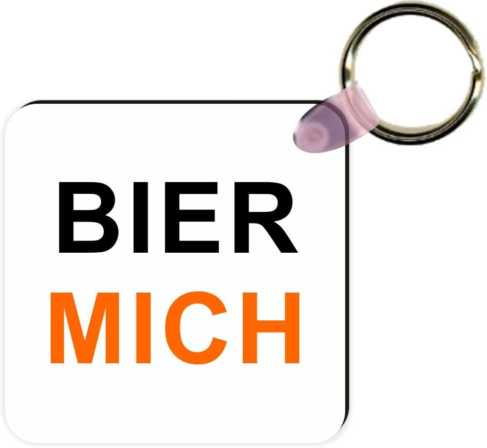 Rikki Knight bier Mich My Beer German Square Kc White