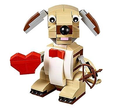 LEGO Bricks & More Valentines Cupid Dog 40201 Building Kit by LEGO
