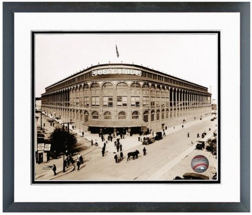 Ebbets Field Framed Photo - Brooklyn Dodgers Ebbets Field MLB Photo 12.5