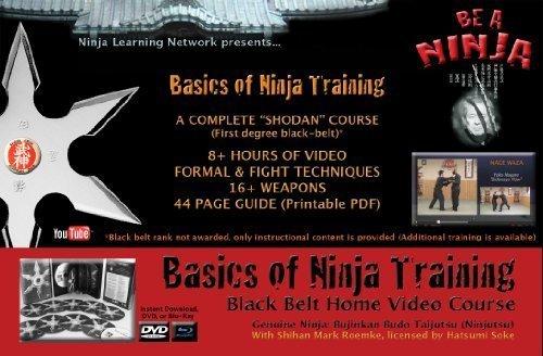 Amazon.com: DVD: Basics of Ninja Training Ninjutsu Blackbelt ...