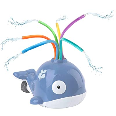 Coxeer Kids Bath Toy Creative Water Spray Whale Shower Toy Bath Tub Toy Water Toy for Kids Indoor Bathroom Play Game: Kitchen & Dining
