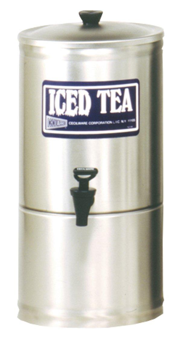 Grindmaster-Cecilware S3 Stainless Steel Iced Tea Dispenser, 3-Gallon