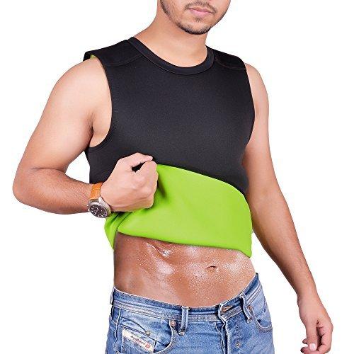 ARD Men's Body Shaper Sauna Vest Neoprene Tank Top Weight Loss, Burn More Fat and Produce Heat for Workouts Shapewear (large)