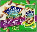 Blue Diamond Almonds 100 Calories Per Bag – 32 Grab and Go Bags,.625 Oz (Individual),20 Oz (net Weight) (3 Pack) For Sale