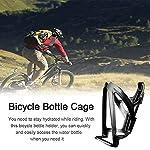 ALHX-2-Pezzi-Bicicletta-PortaborracciaSuper-Leggera-Gabbia-Portabottiglie-da-per-BiciAccessori-per-Portaborraccia-per-Biciclettada-Strada-Portaborraccia-per-Biciclette-Mountain-Bike-Nero