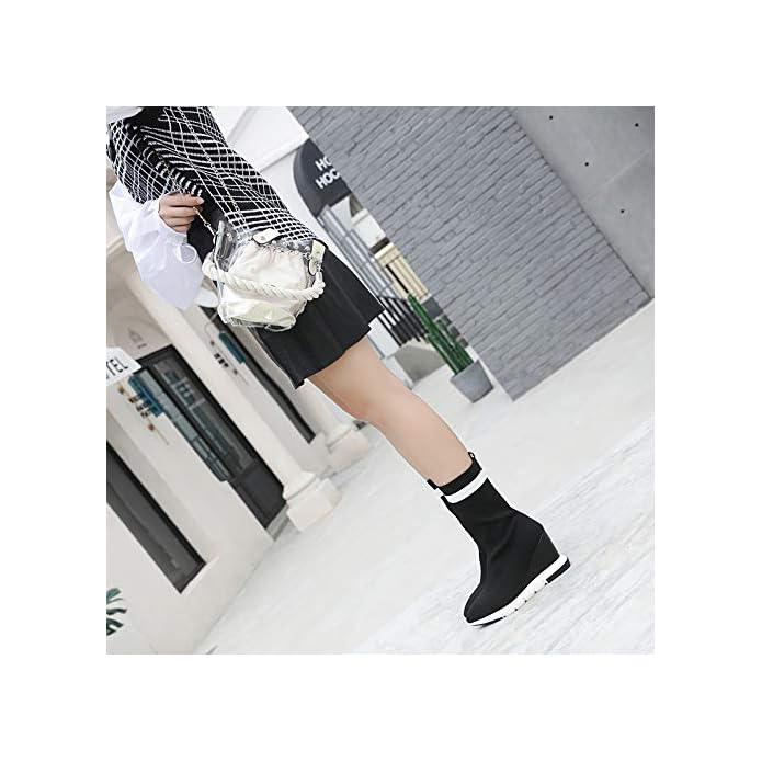 Kphy Scarpe Da Donna calza Stivali Tacco Alto 9cm Inverno Elegante Semplice Diretto Sottile Sexy Zuccherino In Medio