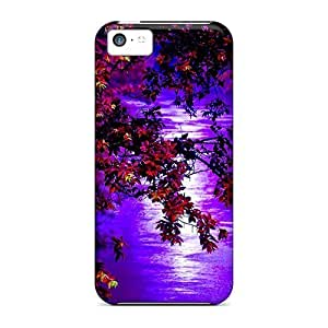 Fashion Protective Autumn Night Case Cover For Iphone 5c