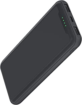GACHI Batería Externa para Móvil 15000mAh, Cargador Portátil Power ...