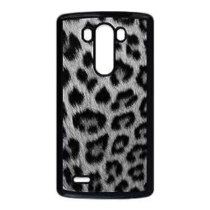 LG G3 Phone Cases Black Snow leopard BOK489130