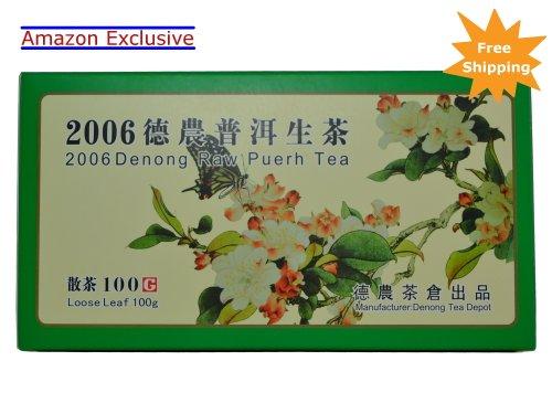 Denong 2006 Honey Fragrance Premium Raw Pu-erh Tea 100 Gram Loose Leaf