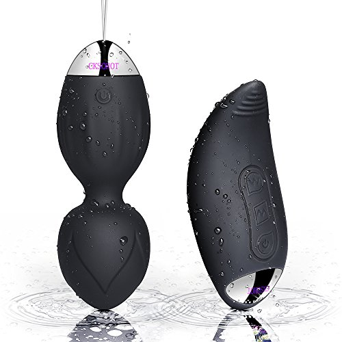 kegel balls-cksohot ben wa balls dual 10 speeds wireless remote control - doctor recommended for bladder control & pelvic floor exercises - women and post-pregnancy recover…
