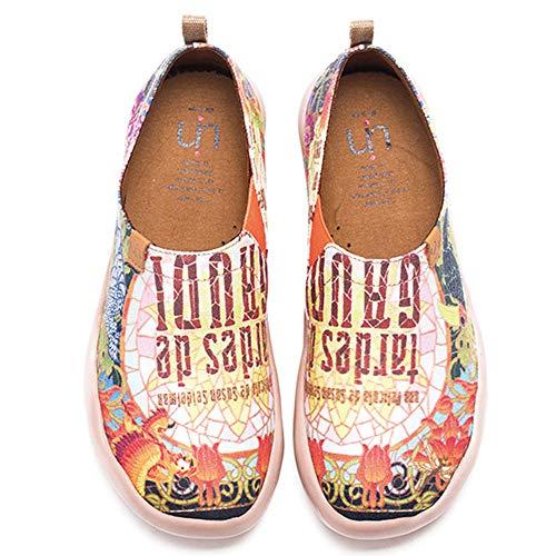 Canvas Women's Painted Uin De Multicolored Tardes Shoe Gaudi 6adXnSq