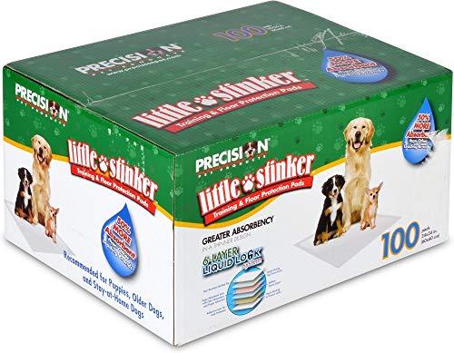 - Petmate Little Stinker Housebreaking Pads 6-Layer Liquid Lock Varying Multi-packs Available