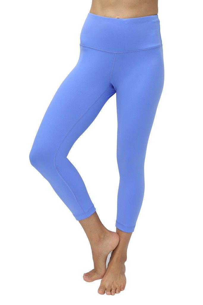 ba53bc583eb51 Galleon - 90 Degree By Reflex – High Waist Tummy Control Shapewear – Power  Flex Capri-Purple Impression-XL