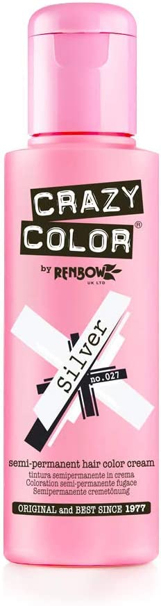 Crazy Color Silver Nº 27 Crema Colorante del Cabello Semi-permanente