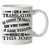 TRANSLATOR Mug 11 Oz - TRANSLATOR Gifts - Unique Coffee Mug, Coffee Cup #02