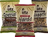 Utz Sourdough Extra Dark, Hards, Nuggets Pretzel Variety 3- Pack (16 oz. Bags)