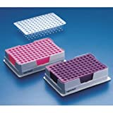 Eppendorf 022510525 Blue Polycarbonate PCR-Cooler Iceless Cold Pack, 96 Well PCR Plates, Strips and Tubes