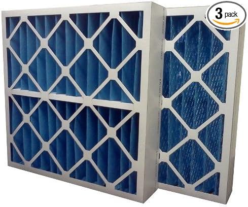 6-Pack 10 x 20 x 1 10 x 20 x 1 Midwest Supply Inc US Home Filter SC60-10X20X1-6 10x20x1 Merv 11 Pleated Air Filter
