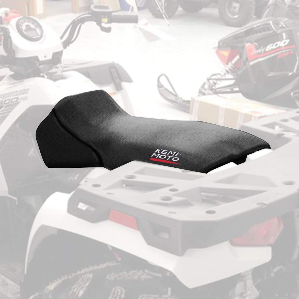 Polaris Sportsman Seat Cover Black Compatible with ATV 4X4 335 400 500 600 700 1996-2004