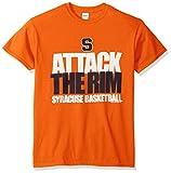 NCAA Syracuse Orange Basketball Attack Short Sleeve Tee, Large, Orange