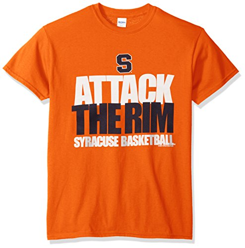 Ncaa Syracuse Orange Basketball Attack Short Sleeve Tee  X Large  Orange
