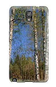 For MudpleL27722UBKaO Earth Forest Protective Case Cover Skin/galaxy Note 3 Case Cover