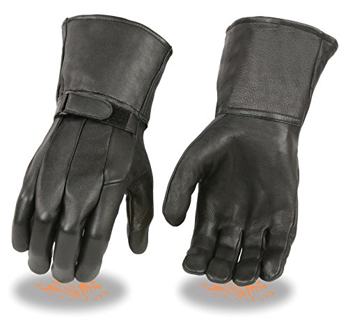 Deer Skin Motorcycle Gloves - 6