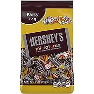 HERSHEY'S Miniatures Chocolate Candy Assortment, 40 Ounce Bag