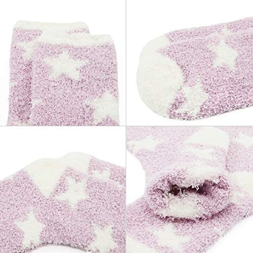 Fuzzy Socks Womens Fluffy Socks Soft Warm Socks Christmas Fleece Socks Athletic Socks Sports Outdoor Socks