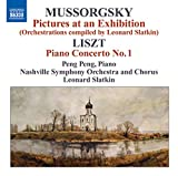 pictures at an exhibition piano - Mussorgsky, M.: Pictures at an Exhibition (Orchestrations Compiled by L. Slatkin) / Liszt, F.: Piano Concerto No. 1