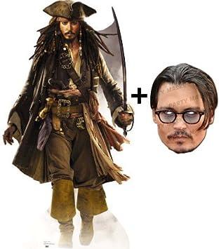 Pack de Capitán Jack Sparrow - para recortar de cartón - Johnny ...