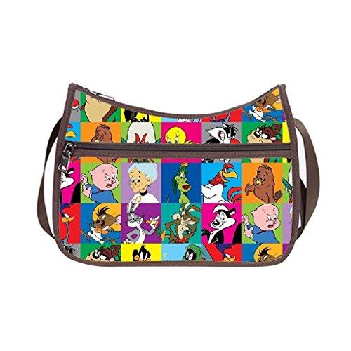 Angelinana Custom Looney Tunes Messenger Bag Shoulder Bag Casual Bags (Looney Tunes Handbag)