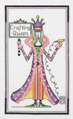 Dolly Mamas Kit Cross Stitch - 7