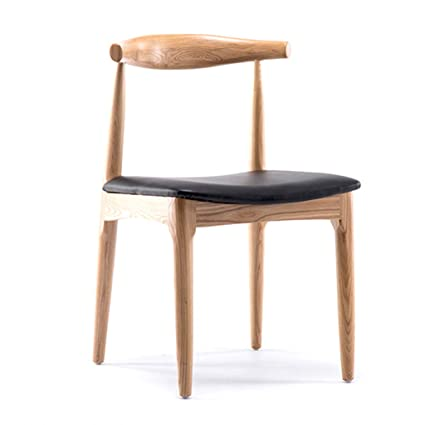 Wooden Leg Leisure Chair Modern Creative Living Room Chair Simple Household Coffee Dining Chair Backrest Office Computer Chair Office Furniture