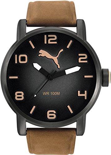 PUMA Time ALTERNATIVE ROUND PU104141004 Mens Wristwatch Solid Case