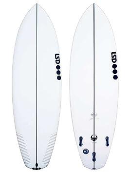 Surfboard LSD Tablas de Surf Twinny 5.8 XF fcsii Tabla de Surf, Uni, Talla