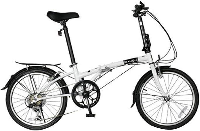 Paseo Bicicleta 20 Pulgadas De Bicicletas Plegables Ultra Light Speed Bicicletas Estudiante Adulto Hombres Y Mujeres Bicicletas Plegables (Color : Blanco, Size : 151 * 60 * 103cm): Amazon.es: Hogar