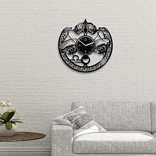 RainbowClocks Vinyl Wall Clock Libra Zodiac Sign Gift For Woman Libra Vinyl Record Clock Astrology Wall Clock Vintage Libra Gift For Her Astrology Xmas Gift Zodiac Sign Vinyl Clock