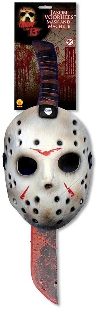 6a6dba618272 Mini elettrodomestici Maschera da Hockey di Jason Voorhees e Machete Set  Rubies Masquerade Pentole e padelle