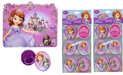 Sofia The First 12 pc Paper Placemats +