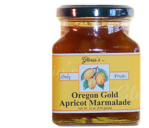 Apricot Marmalade by Gloria's Gourmet: 12 oz. jar Oregon Gold and Made