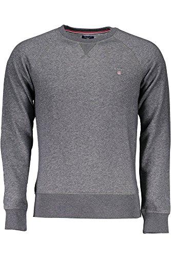 Original Gris Gant neck C Homme Shirt Sweat dYcRqxwcCg