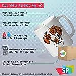 Custom Funny Coffee Mug Coffee Cup Ariege Pointer Head White Ceramic Tea Cup 11 OZ Design Only 9