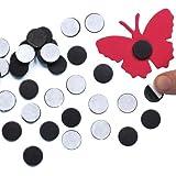Selbstklebende Mini-Magnete - zum Basteln für Kinder - toll als Dekoration und ein Muss im Bastelbedarf - 150 Stück